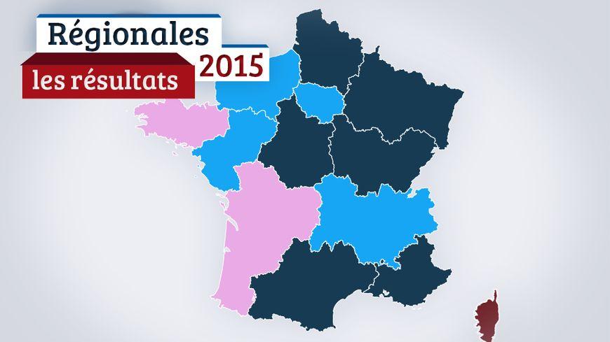 La carte des résultats avec France Bleu