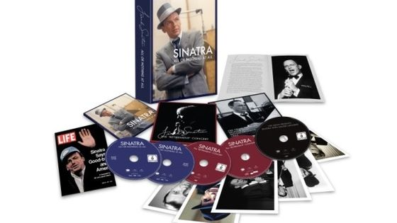 Photo - montage coffret déployé Frank Sinatra All Or Nothing At All MEA 603*380