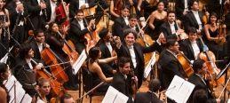 Gustavo Dudamel et l'Orquesta Sinfonica Simon Bolivar ©Gerardo Gómez