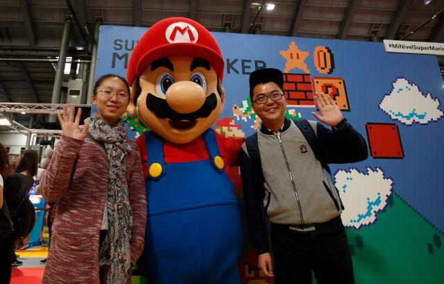 Super Mario et ses fans