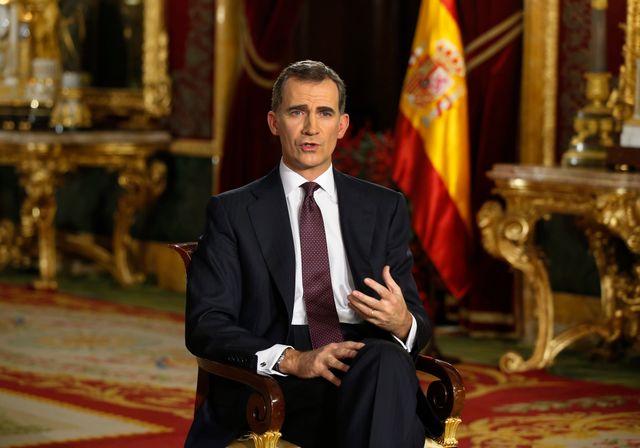 Le roi d'Espagne appelle à l'unité et au dialogue