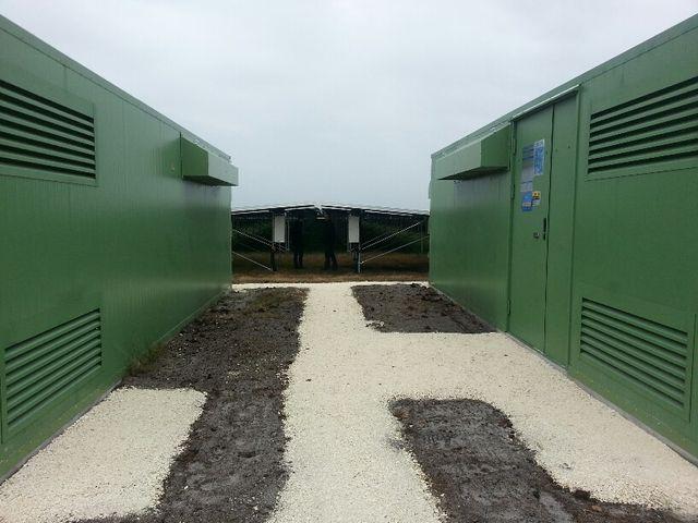 Parc photovoltaïque d'Europe Neoen, à Cestas en Gironde.