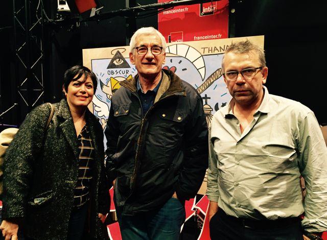 Valérie Zenatti, Pascal Manoukian et Philippe Torreton
