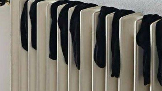 Le pianiste sèche ses chaussettes