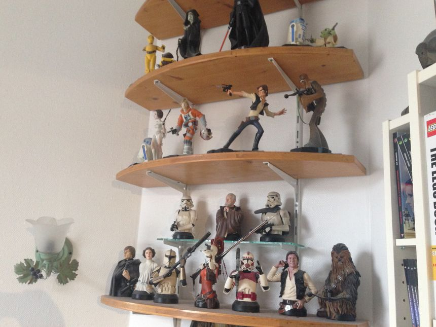 La collection de figurines Star Wars de Christian