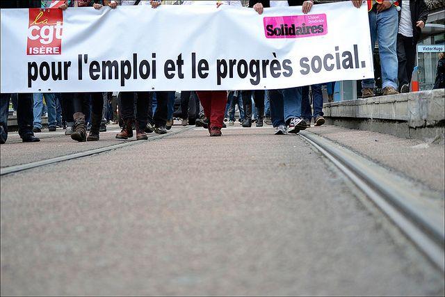 Défilé du 1er Mai à Grenoble