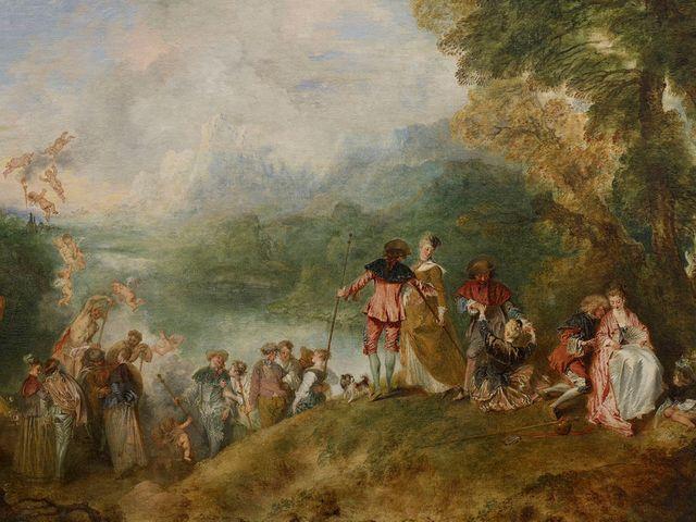 Embarquement pour l'île de Cythère - Watteau -