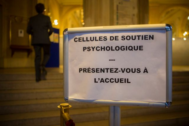 Cellule psychologique à la mairie du Xe arrondissement à Paris