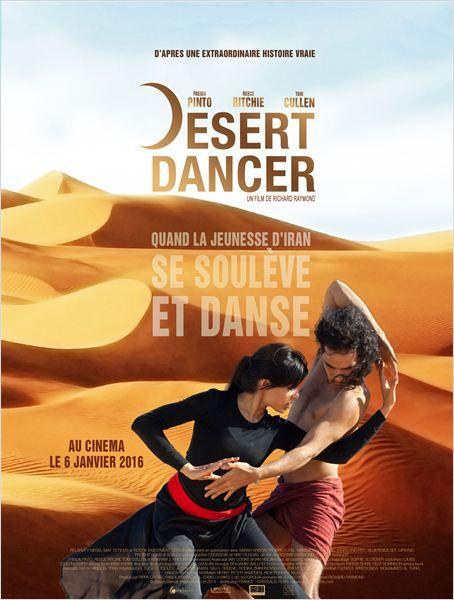 "Affiche film ""Desert Dancer"" de Richard Raymond"