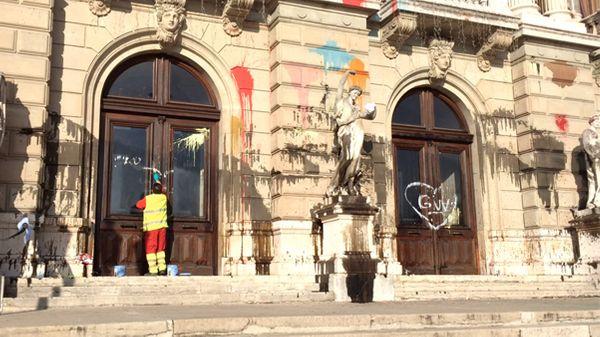 L'Opéra de Genève saccagé en marge d'une manifestation
