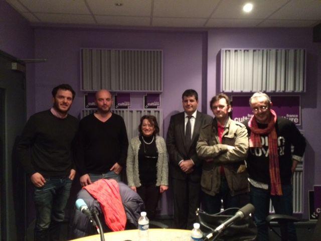 David Thomson, Luc Mathieu, Hala Kodmani, Fabrice Lorvo, Eric Biegala, Frédéric Barreyre