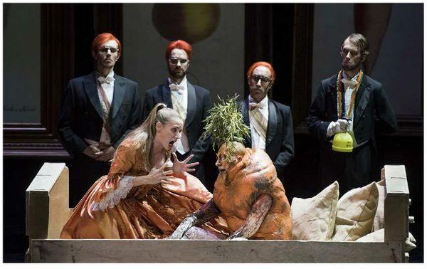"""""""Le roi Carotte"""" de Jacques Offenbach à l'Opéra de Lyon ©Stofleth"""