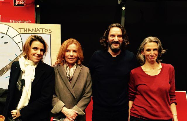Françoise-Marie Santucci, Alix Girod de l'Ain, Frédéric Beigbeder et Mona Chollet