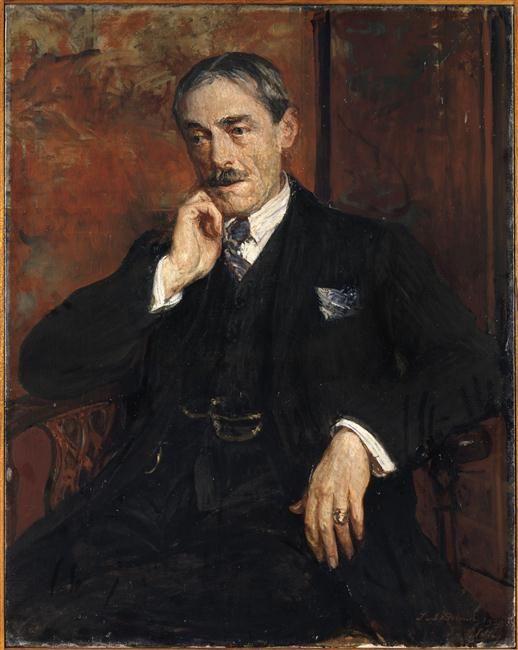 Paul Valéry par Jacques-Emile Blanche, 1928