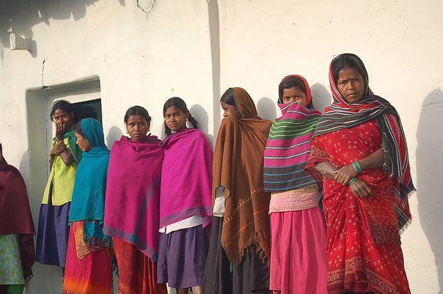 Jeunes femmes indiennes, Chhattisgarh, 2005