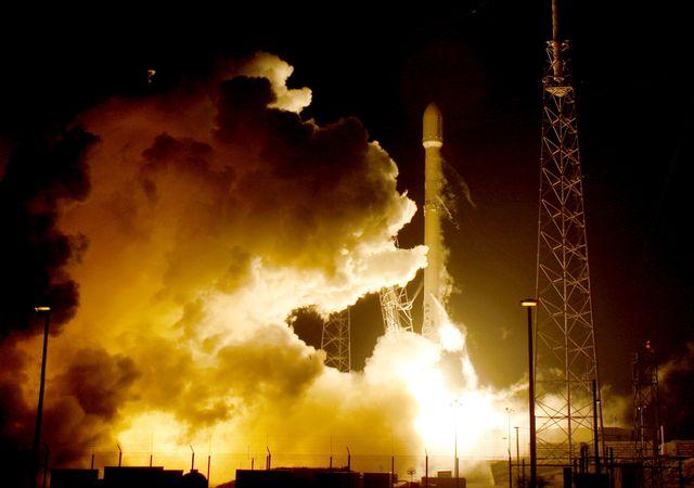 La fusée Falcon de Space X