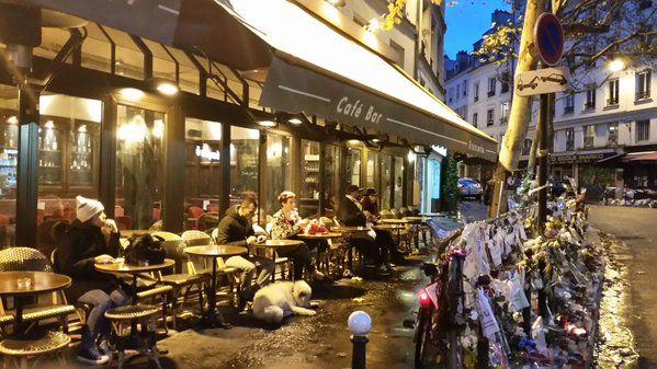 Le café La Bonne Bière, dans le 11e arrondissement de Paris