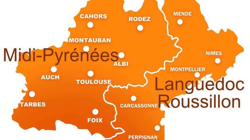 Languedoc roussillon midi pyrénées