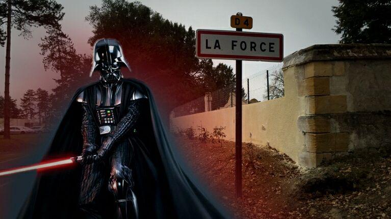 Dark Vador est-il déjà passé par La Force, en Dordogne?