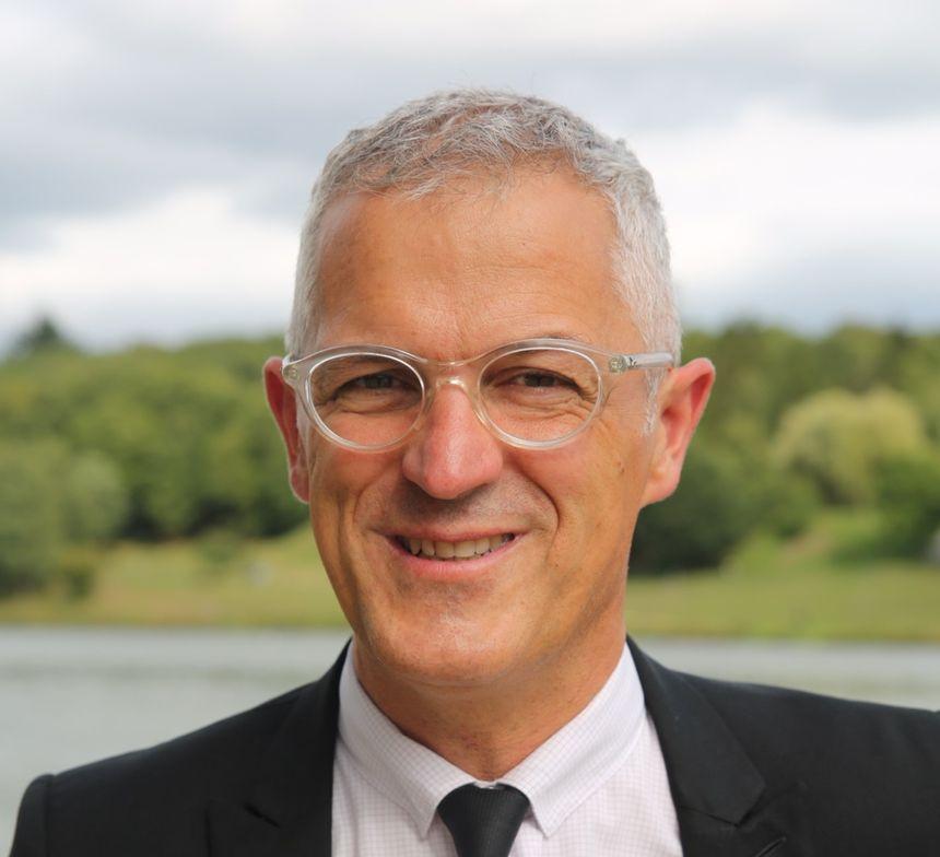 Eric Correia, tête de liste PS/PRG en Creuse
