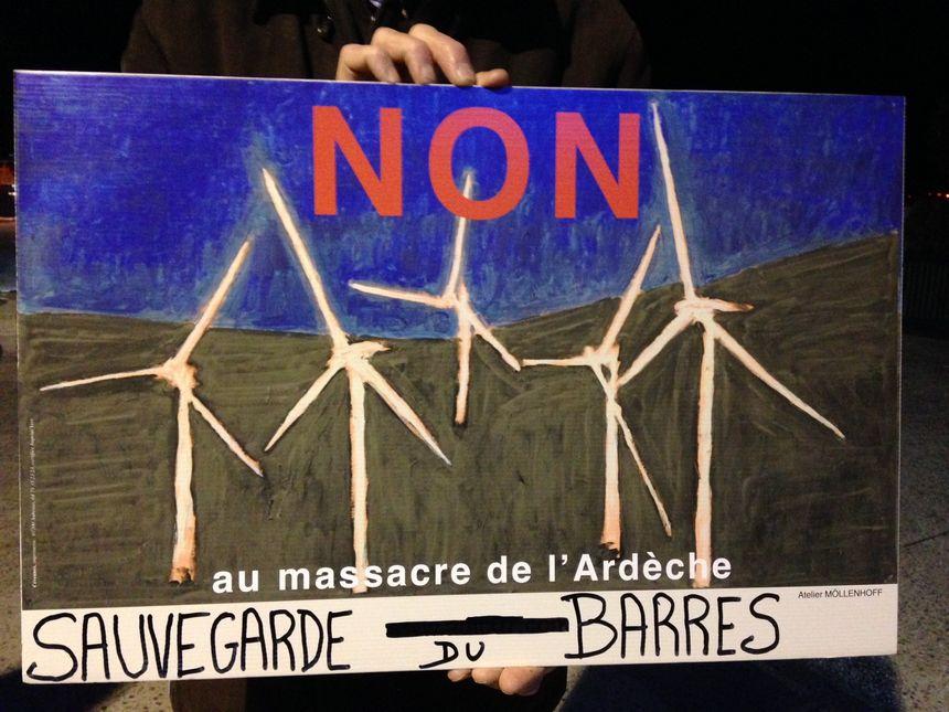 Pour les opposants, ce projet d'éolienne va nuire au paysage.