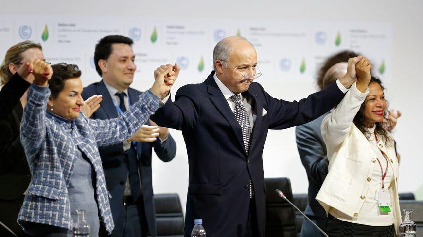 Laurent Fabius, le président de la COP21