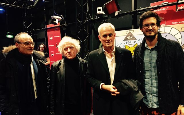 Philppe Val, Pascal Ory, Daniel Leconte et Emmanuel Leconte