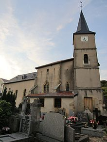 Eglise SAint Brice (Saulny)