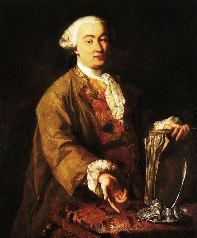 Portrait de Carlo Goldoni par Alessandro Longhi - vers 1750