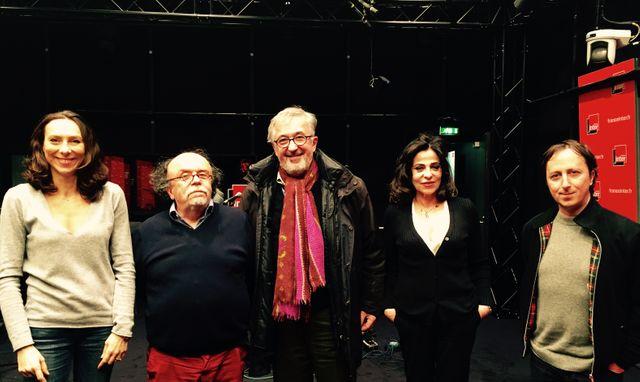 Gwenola David, Jean-Michel Ribes, Philippe Meyer, Dominique Rizzo et Philippe Quesne