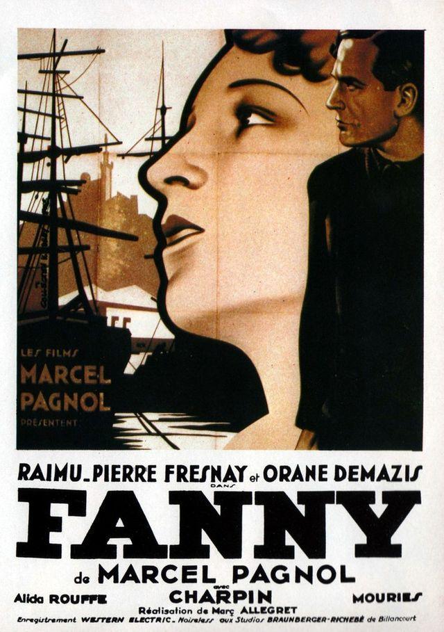 Fanny de Marcel Pagnol, affiche