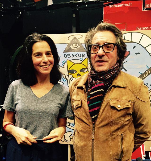 Lamia Ziadé et Charles Berberian