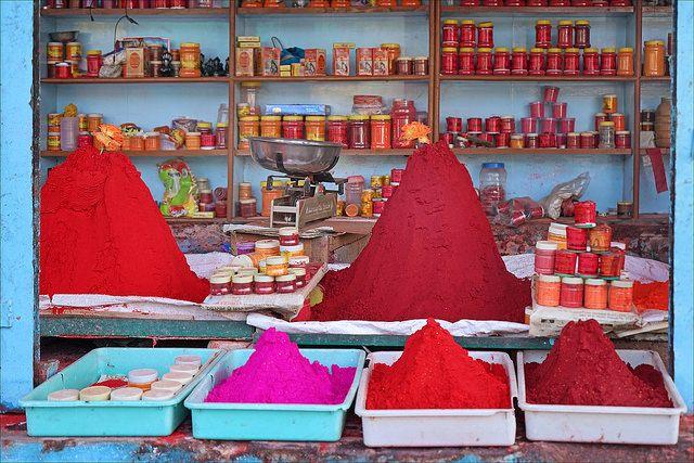 Fête des couleurs, Inde