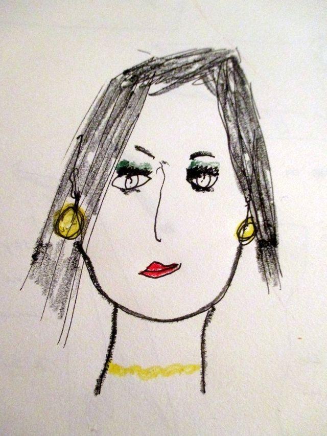 L'autoportrait de Liane