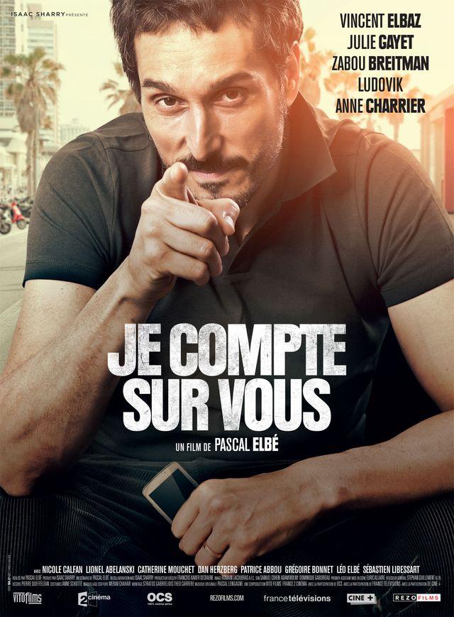 """Affiche """"Je compte sur vous"""" de Pascal Elbé"""