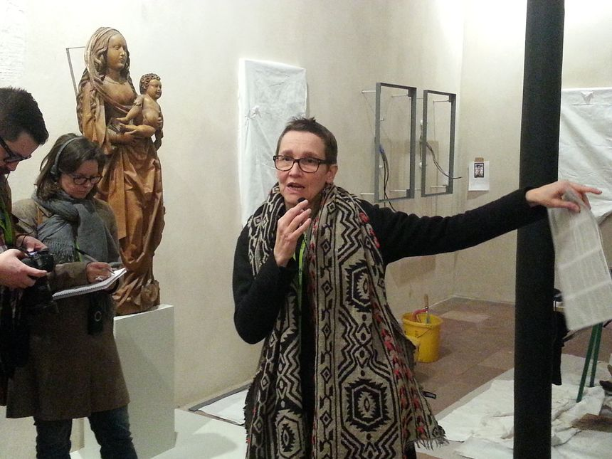 Pantxika de Paepe, la conservatrice en chef du musée Unterlinden, en 2013.
