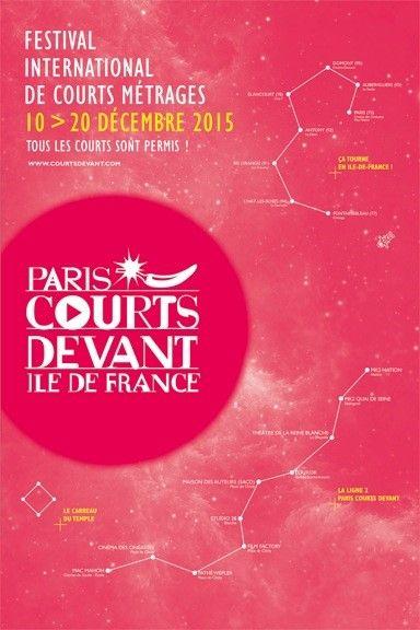 Affiche Festival Paris Courts Devant