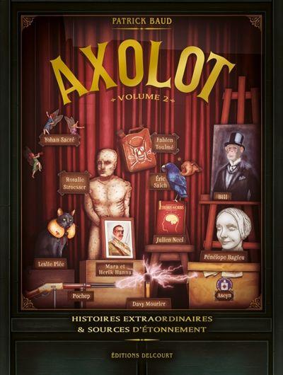 Axolot, volume 2, de Patrick Baud (éd.Delcourt)