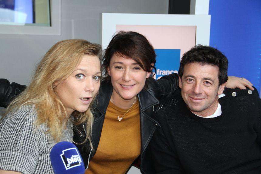 Patrick Bruel et Caroline Vigneaux