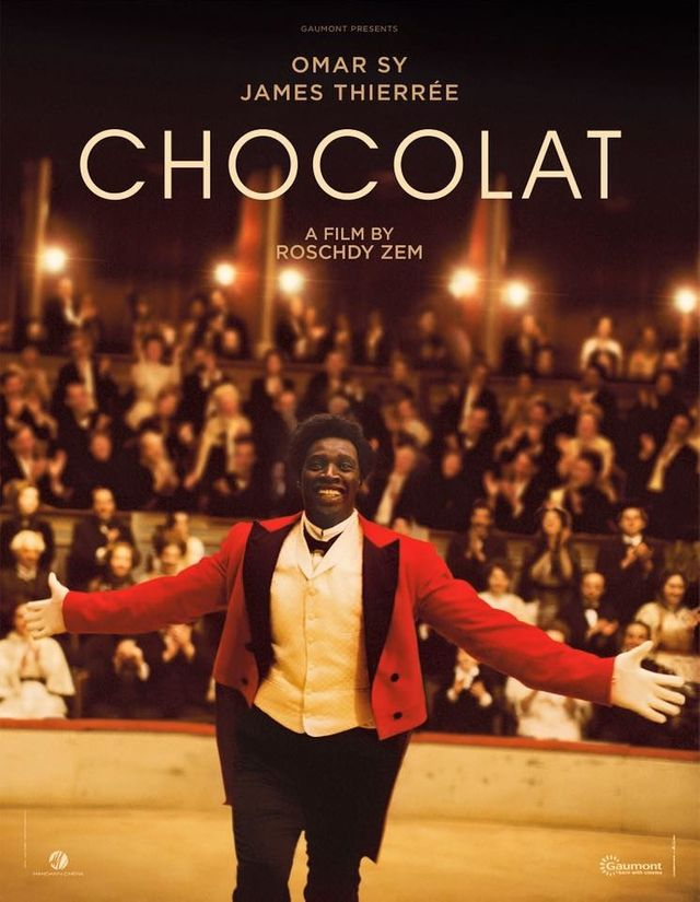 "Affiche ""Chocolat"" de Roscdy Zem avec Omar Sy"