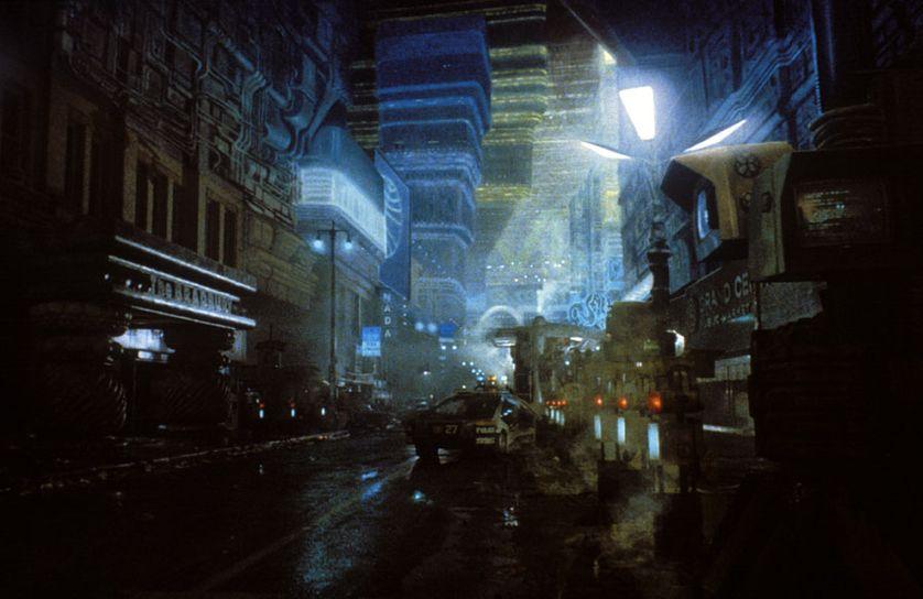 La ville du futur dans le film Blade Runner