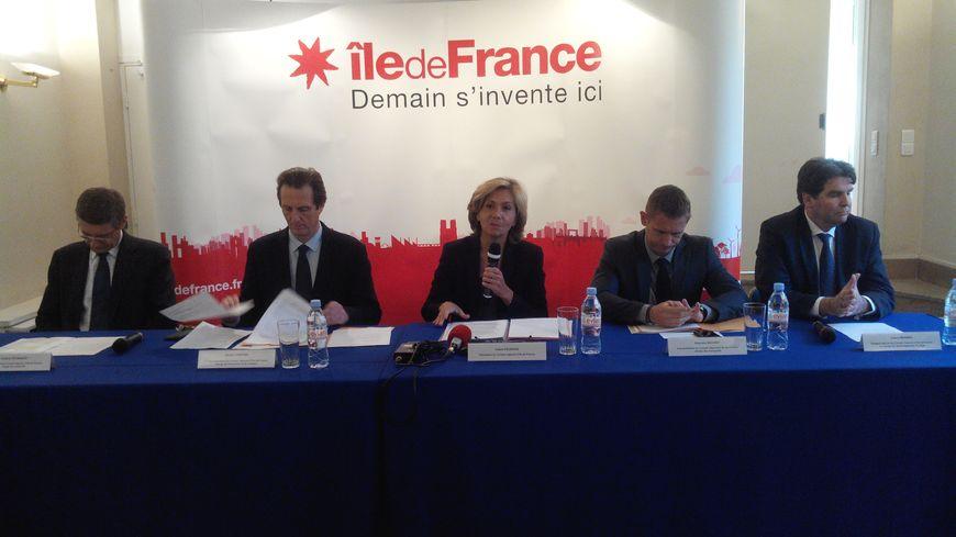 La nouvelle présidente de région Valérie Pécresse.
