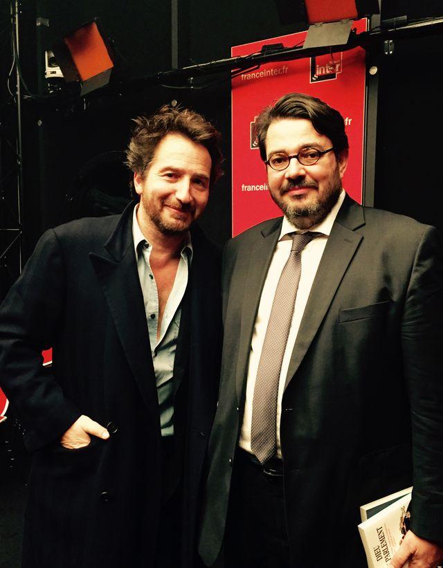 Edouard Baer et Bruno Fuligni