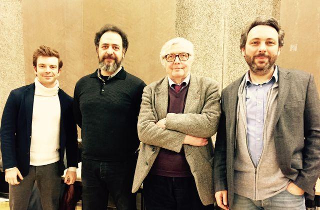 David Kadouch, Rafik Djoumi, Patrick Brion et Xavier Dorison
