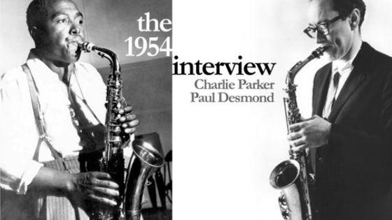 Charlie Parker et Paul Desmond