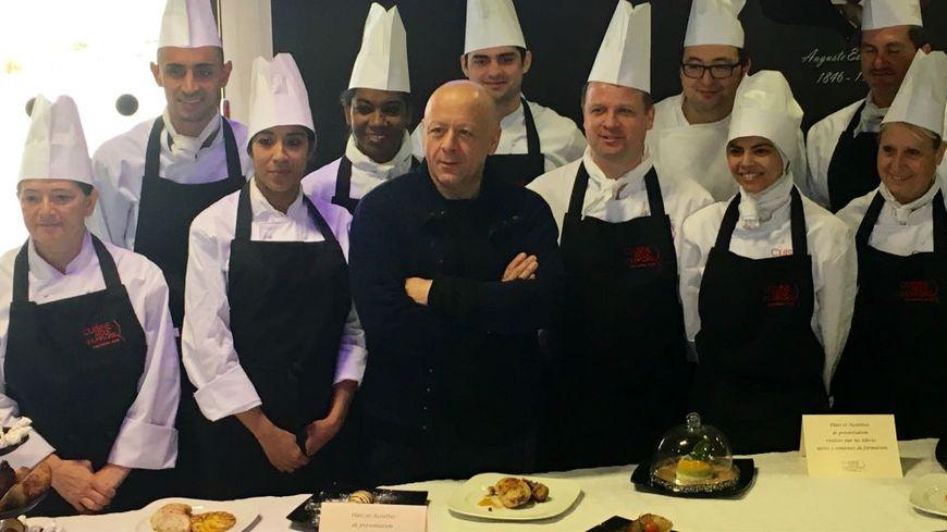 Des cours de cuisine avec thierry marx pour retrouver un for Recrutement chef de cuisine