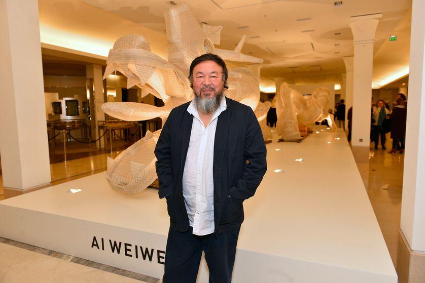 """Ai Weiwei au vernissage de l'exposition """"Er Xi"""