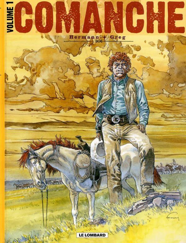 Couverture de Comanche d'Hermann