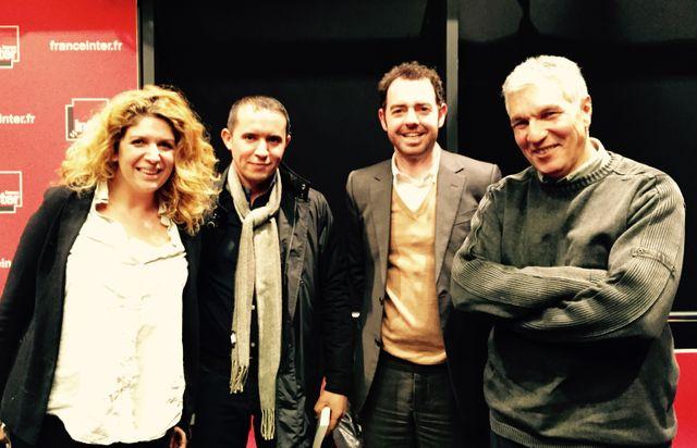 Baya Kasmi, Nacer Safer, Jean Birnbaum et Rachid Arhab