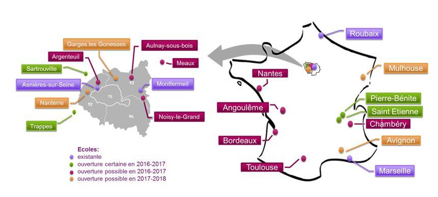 """St-Étienne fait partie des quatre projets d'ouverture """"certaine"""" en 2016-17."""